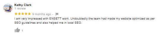 Kathy- client feedback on SEO company in patna