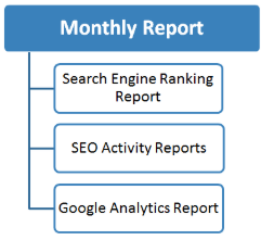 SEO company in patna- Monthly report ENSETT