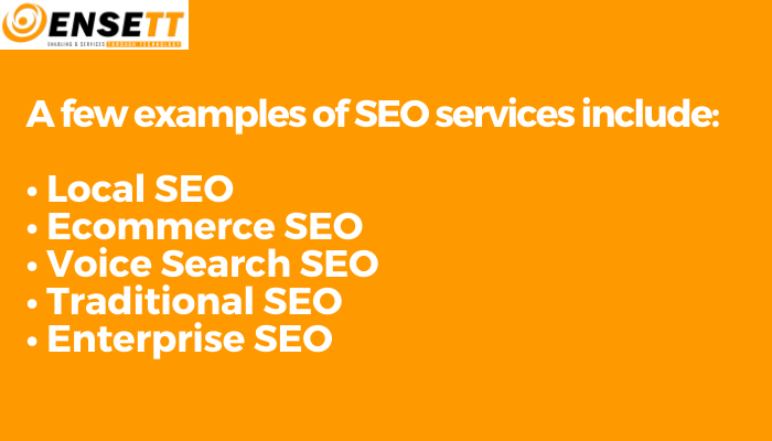 examples of SEO services